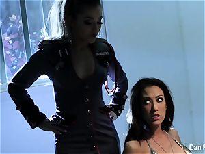 Bad gal Capri Cavanni gets punished by Dani Daniels