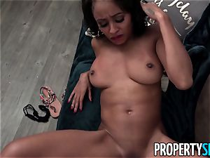PropertySex adorable black Anya Ivy Has To Pay Back Rent