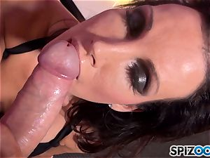 Mature brown-haired Shay sights loves to fellate pink cigar