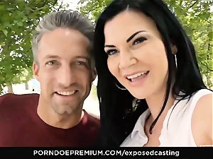 unveiled casting Jasmine Jae banged in red-hot casting