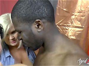AgedLovE Lacey Starr bi-racial xxx action