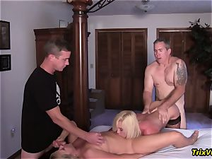 group penetrate the Stripper with Ms Paris Rose