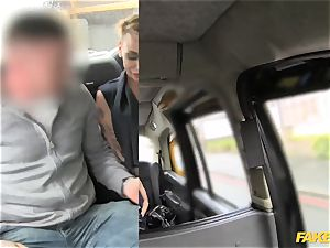 faux taxi puny damsel in mind-blowing undergarments