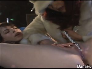 Dana DeArmond gets her slit toyed with