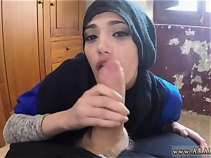 Arab strapped up and school nymph smashed twenty-one yr older refugee in my motel apartment for hump
