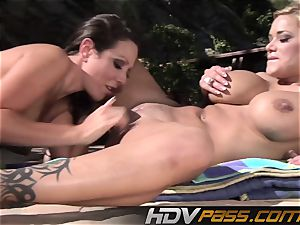 HDVPass Amy and Shyla gobble each others cunts