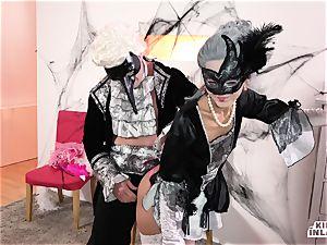 crazy INLAWS - sloppy Halloween penetrate with Shrima Malati