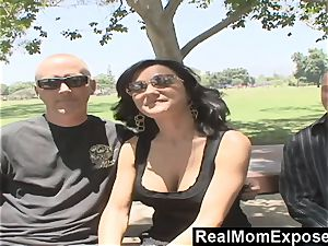 RealMomExposed He observes as His wife Gets screwed