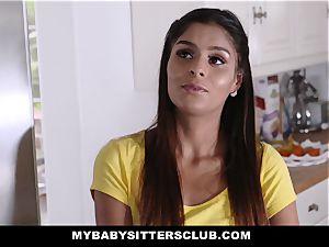 MyBabySittersClub - super-cute teen sitter penetrates schoolteacher