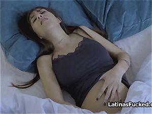 Latina longing for roommates bfs humungous man-meat