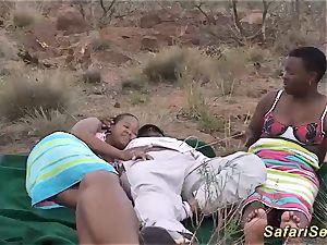 Real african safari hump intercourse