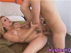 Lexi Belle gets nutted on