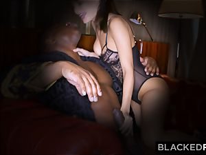 BLACKEDRAW wifey loves his yam-sized black chisel a lil' too much