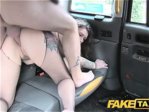 faux taxi Backseat arouses for taxi drivers