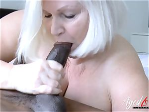 AgedLovE Lacey Starr bi-racial xxx fuck-fest