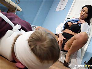 Ania Kinski pummeled doggie