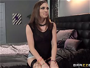 nanny Lily love gets poked by Elexis Monroe