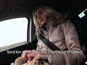 Victoria Puppy gets a strangers shaft deep inside her