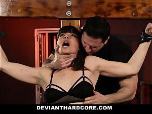DeviantHardcore-Hot mummy groped and cuffed To Cross