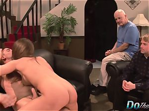 wifey Cathy Heaven Is sodomized by a Stranger and Her hubby Just likes It