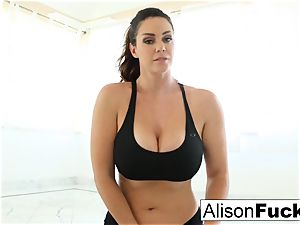 Alison Tyler works a faux-cock