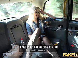 faux taxi brit ash-blonde sweetheart Amber Jayne