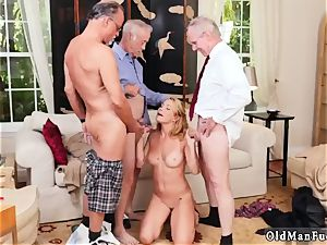 huge knockers dark haired first-timer dt Frannkie And The group Tag crew A Door To Door Saleswoman