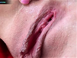 Tanya James using phat fuck sticks into her wet poon