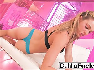 Dahlia Sky plays with a hump plaything