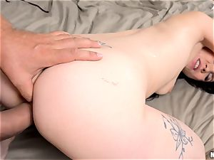 Ally style banged in her spectacular bulls eye and creamed