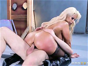 Free ass-fuck appeal with big-titted Spanish senorita Bridgette B