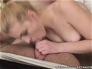 ultra-kinky platinum-blonde ready for her neighbor to pound her