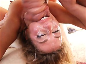 Sheena Shaw cant get enough man meat in her gullet