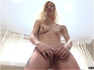 promiscuous nubile Kenzie sneaks into stepdaddy's bed