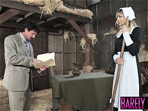 babe Blair Williams saves the heritage with her pussy
