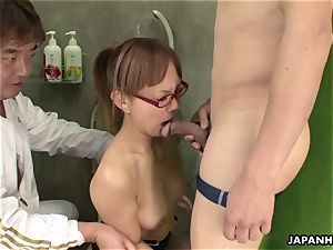 magnificent japanese stunner fucktoy pokes and bj's a big fuckpole