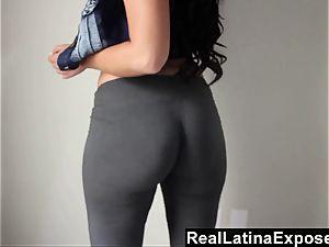 RealLatinaExposed Ava Alvares shows Off