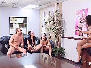Getting insatiable in the office part four