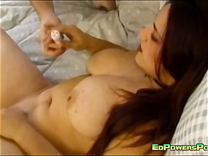 huge-chested nubile banged by Ed Powers
