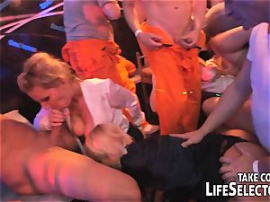 The Swinger party proceeds in Tokyo