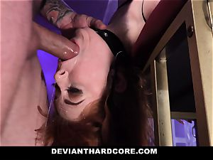DeviantHardcore - hot ginger-haired Gets hatch drilled
