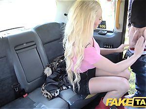 fake cab blonde stellar bombshell does backseat anal invasion fuck-a-thon