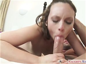 young horny nymph Jade Nile seduced her finest friend's husband bulky