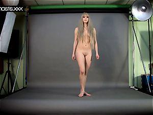 super-steamy gymnast naked teen