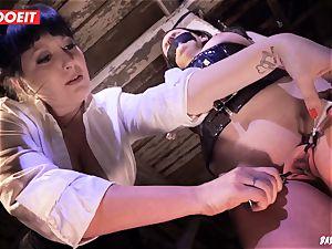 LETSDOEIT - brunette Maid loves sadism & masochism raunchy torture