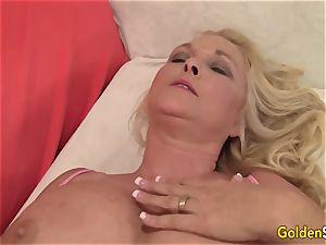 massive mammories granny Sara Skippers rails hard-on