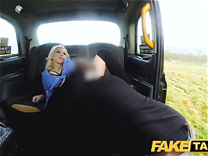 fake taxi chesty insatiable nurse pees and raunchy fucking