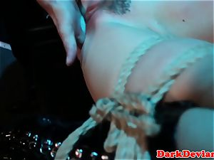 caned Chanel Preston pounded while tiedup
