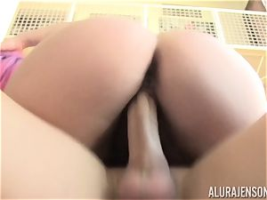 lush Eliza Allure ravaged with the help of steaming blond mummy Alura Jenson