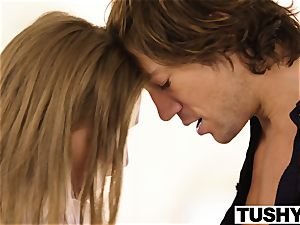 TUSHY huge-boobed honey romps her sisters ex bf